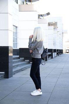 new concept 8e60d e9656 Casual  Acne Studios, Paige Denim and Adidas Originals Stan Smith   www.chocolateheels.com