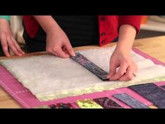 Fun & Done a quilt as you go technique. - YouTube