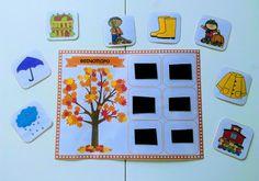 Μαθαίνω τις 4 εποχές (εκτυπώσιμο παιχνίδι) εποχή Learn Greek, Preschool Activities, Teaching, Education, Diys, Blog, Crafts, Manualidades, Bricolage