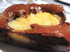 Schokoladen-Birnenkuchen Steak, Food, Pies, Cacao Powder, Chocolate Cakes, Simple, Essen, Steaks, Meals