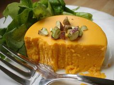 Savory Carrot Panacotta - must try celeriac version