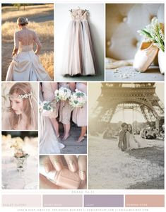 we're in love with this gorgeous ballet inspired wedding inspiration board by @Rose Murphy