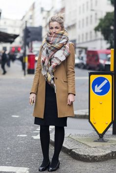 how to wear a skirt in winter 2015