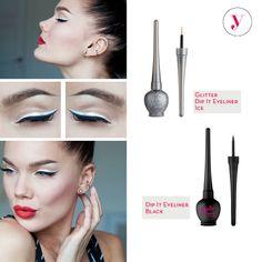Black & White è sempre un must! Perché non provare anche con gli #Eyeliner? http://www.vanitylovers.com/prodotti-make-up-occhi/eyeliner.html?utm_source=pinterest.com&utm_medium=post&utm_content=vanity-eyeliner&utm_campaign=pin-vanity