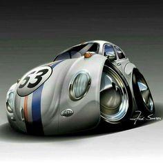 Auto Volkswagen, Volkswagen New Beetle, Vw T1, Carros Retro, Combi Wv, Vw Cabrio, Cool Car Drawings, Kdf Wagen, Vw Vintage