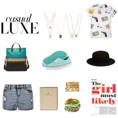 """CASUAL"" by jheka on Polyvore Casual, Polyvore, Image, Fashion, Moda, Fashion Styles, Fashion Illustrations"