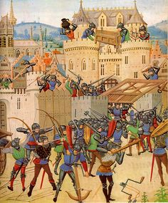 Siege in the course of the Hundred Years War