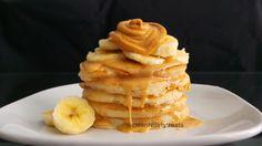 Blueberry protein pancakes, Protein pancakes and Protein on Pinterest
