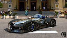 Bugatti 12.4 Atlantique Concept Grand Sport