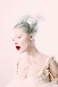 Fashion crystals ~ Harlow Magazine.
