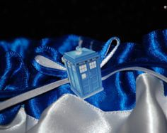 Dr. Who Custom Bridal Garter SINGLE Great for Weddings or Prom STYLE 2