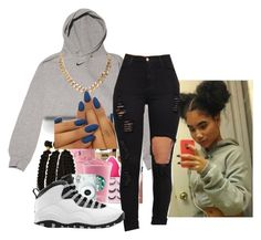 """Untitled #44"" by dangerkayy ❤ liked on Polyvore featuring NIKE"