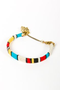 n+n color blocked bracelet | a-thread. perfect for summer