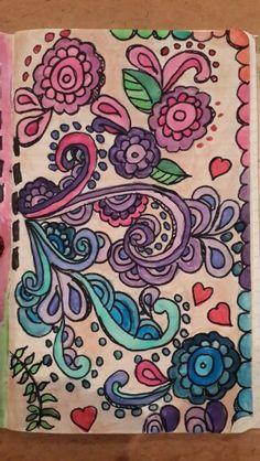 Watercolour Doodle Art