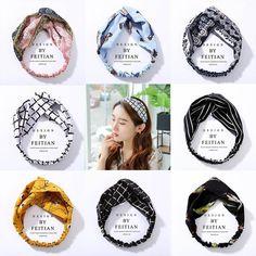 Material: Cloth Color: Size: Net Weight: (Approx) 10 g Item PC Cotton Hairband Hair Bonnet, Hair Turban, Shower Cap, Winter Warmers, Knitted Headband, Head Wraps, Hair Band, Korean Fashion, Hair Accessories