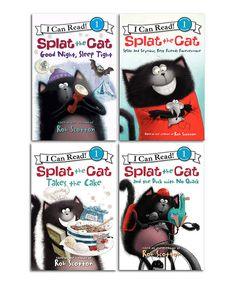 Look at this Splat the Cat Adventures Reader Paperback Set on #zulily today!