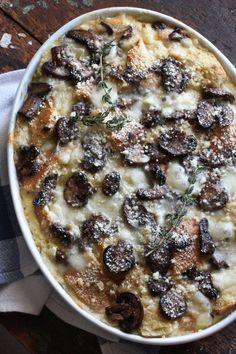 Recipe: Brie & Mushroom Breakfast Strata — Recipes from The Kitchn | The Kitchn
