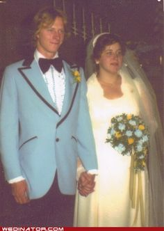 Bride and groom, August 31, 1980.