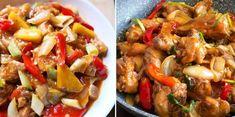 Kamu bisa memasang ayam manis sendiri di rumah. Kung Pao Chicken, Granola, Snacks, Meat, Ethnic Recipes, Food, Tapas Food, Beef, Appetizers