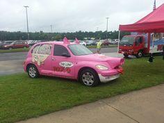 Love the pig car!!