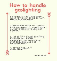 How to respond to gaslighting Narcissistic Behavior, Narcissistic Sociopath, Narcissistic Personality Disorder, Mental And Emotional Health, Emotional Abuse, Abusive Relationship, Relationship Advice, Relationships, Gaslighting Signs