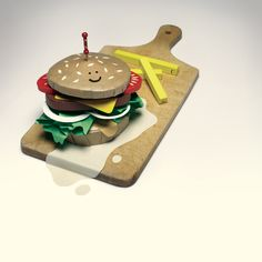 """Paper food- burger - Tabas du français Cédric Malo """"Tabas"""""""