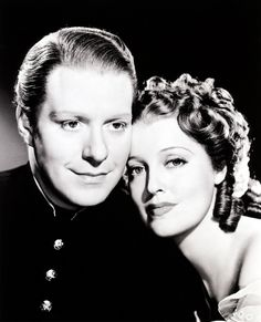 Nelson Eddy and Jeanette McDonald. They made movies and records years ago, but they sure were good