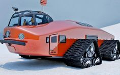 Polar Snow Crawler giant, inspired by the one-of-a-kind Antarctic Snow Cruiser constructed back in the 1930s.