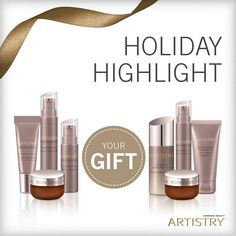 Feel Empowered.  GET YOUR GIFT with the purchase of an ARTISTRY YOUTH XTEND Power System.