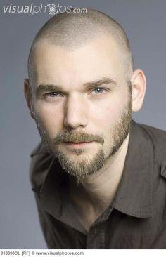 beard bald men - Buscar con Google