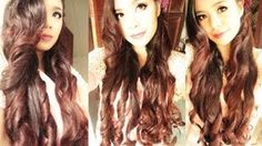 No Heat Magazine Curls with An Easy and Quick Valentines Day Hair Tutorial