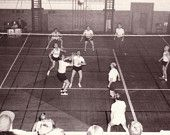 50s volleyball