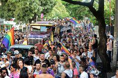 En imágenes: Con el tradicional 'Pride', caleños conmemoraron el orgullo Lgbt | EL PAIS