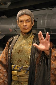 Ambassador Soval (Star Trek: Enterprise), played by Gary Graham~I remember him, I liked his character.
