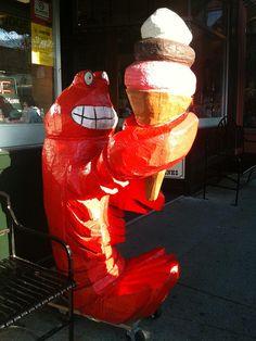 Ice Cream Lobster, via Flickr.