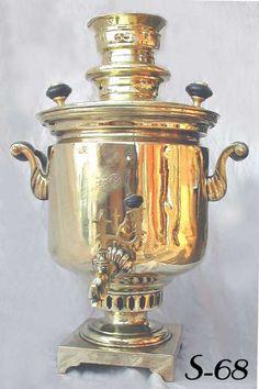 Russian Samovars - Rare Judaica Antiques, Samovar, Kiddush Cups ...