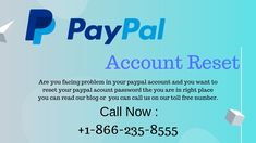 How To Reset Paypal Password Without Phone Number Paypal Reset