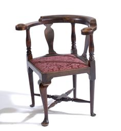 English George III Corner Chair, - Cowan's Auctions