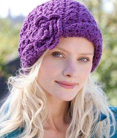 Charleston Cloche Diy Crochet Hat, Easy Crochet Hat Patterns, Sombrero A Crochet, Crochet Adult Hat, Bonnet Crochet, Crochet Patron, Crochet Beanie Hat, Crochet Scarves, Crochet Crafts