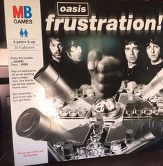 OASIS-Frustration-2006-UK-promotional-only-board-game-NEW-SEALED