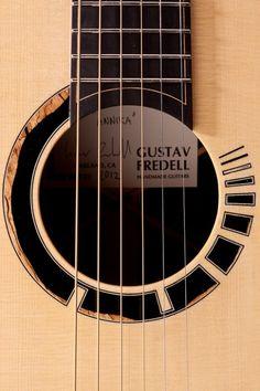 Gustav Fredell guitars - rosette