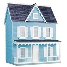 Pretty Dolls House for girls. Dollhouses are all the fuzz with the holidays coming up. Great gifts for girls!
