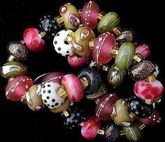 DSG Beads Handmade Organic Lampwork Glass-Made To door debbiesanders
