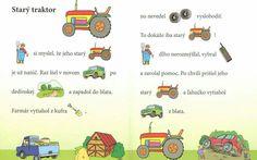 Portfolio, Preschool Activities, Education, Comics, Tractor, Comic Book, Comic Books, Educational Illustrations, Learning