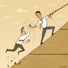 ¿Crees que pierdes el tiempo en tu trabajo cuando ayudas a un compañero? - En el trabajo ya no vales sólo por lo que logras sino por cuánto ayudas - El Definido