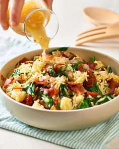 Recipe: Bacon & Spinach Orzo Salad — Recipes from The Kitchn