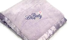 Your place to buy and sell all things handmade Embroidered Baby Blankets, Beautiful Lights, Love And Light, Light Purple, Baby Items, Baby Love, Baby Gifts, Baby Strollers, Great Gifts