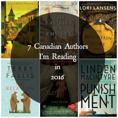 [ON THE BLOG] I shared the 7 Canadian authors I can't wait to read for the first time this year. #MMDchallenge #MMDreading #canadareads