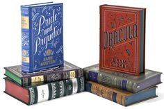 Barnes & Noble leatherbound classics, designed by the immensely talented Jessica Hische