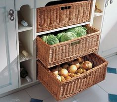 Eco Friendly Food Storage Ideas And Fresh Produce Storage Solutions Keep  Food Nutritious For Longer Time, Save Energy And Improve Kitchen Design By  Adding ...
